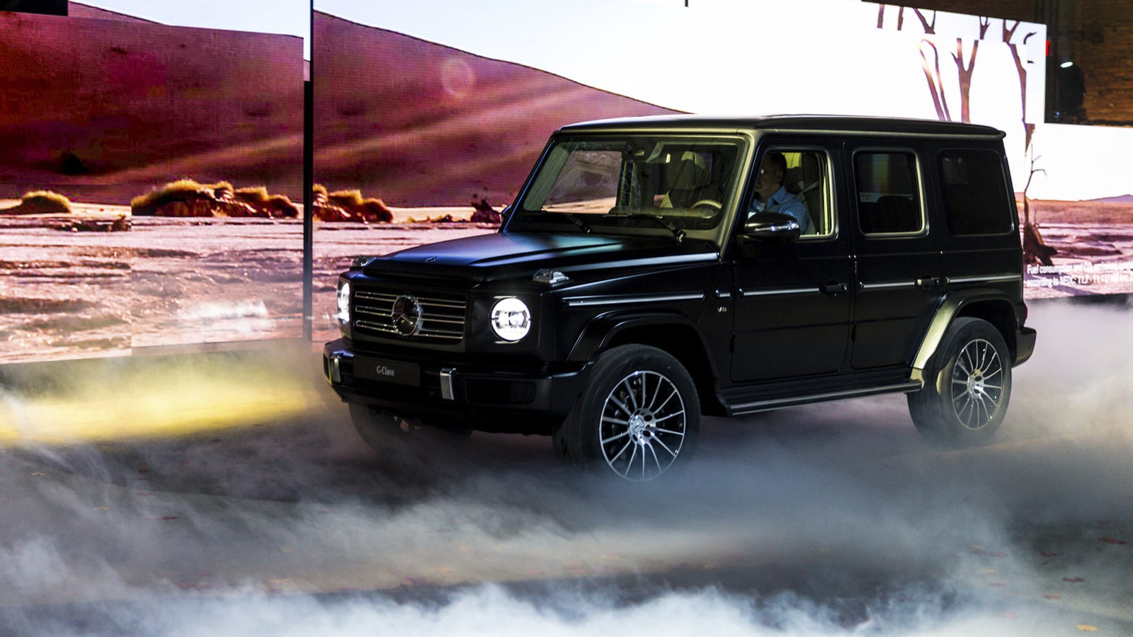 The new mercedes benz g class has a lot of changes except for New mercedes benz g wagon