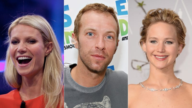 Illustration for article titled Chill Gwyneth Paltrow Totally Cool With Chris Martin/JLaw Romance