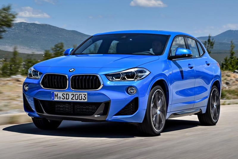Illustration for article titled The madness continues: The 2018 BMW X2 is $4500 more than an X1