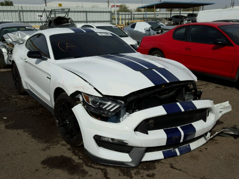 SomeoneAlreadyTrashed A Ford Shelby GT350 Mustang