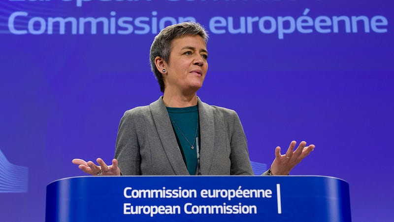 Illustration for article titled La UE se prepara para acusar a Google de monopolio en buscadores