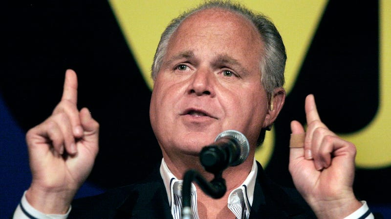Illustration for article titled Women Are 'Nothing But Abortion Machines' Sputters Rush Limbaugh
