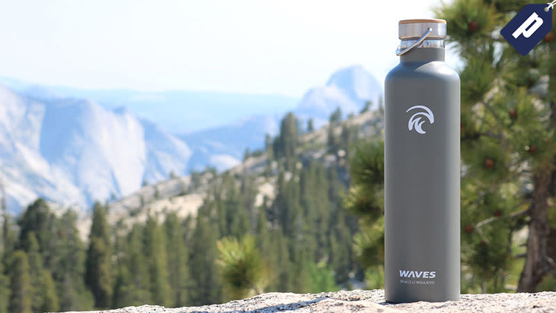 Illustration for article titled Save 50% On The Insulated Forever Cold Water Bottle From WavesGear (From $17)