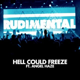 """Illustration for article titled Rudimental Feat. Angel Haze, """"Hell Could Freeze (Skream Remix)"""""""