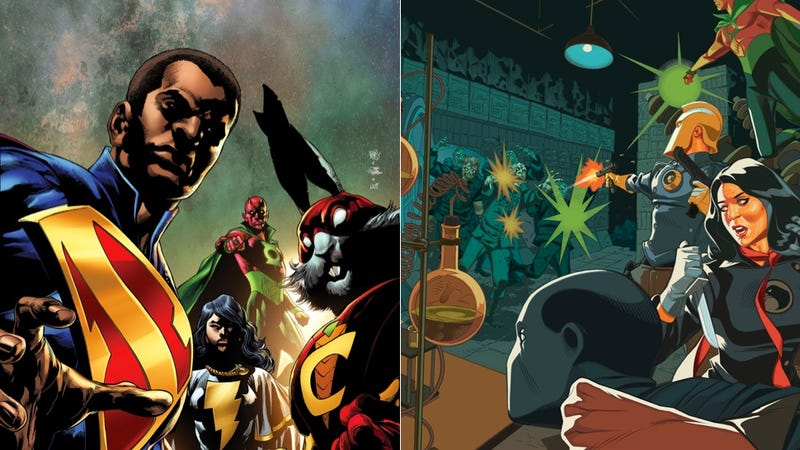 Illustration for article titled ​Grant Morrison's  The Multiversity Remixes What Makes DC Comics Great