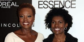 Actress Viola Davis and former Essence Editor-in-Chief C.R. Constance White (Frederick M. Brown/Getty Images)