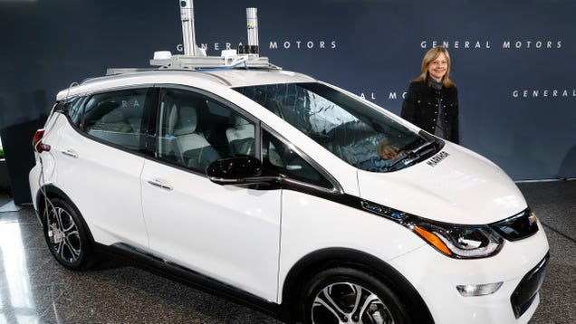 Motorcyclist Sues GM Over Crash With Self-Driving Chevy Bolt