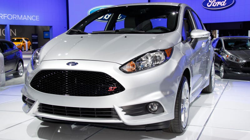 Illustration for article titled 2014 Ford Fiesta ST: Meet The Furiously Small Performance Car
