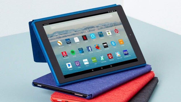 Amazon s Good-Enough Fire Tablets Are Just $35 Today