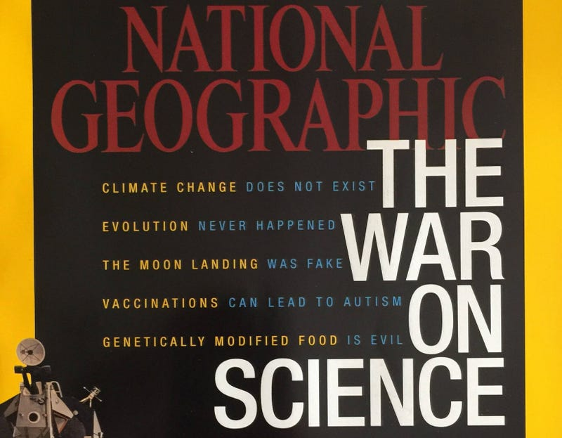 Illustration for article titled National Geographic Is Now Owned by a Climate Change Denier