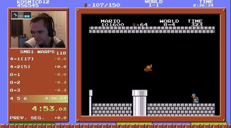 Super Mario Bros  Speedruns Are One Step Closer To Best