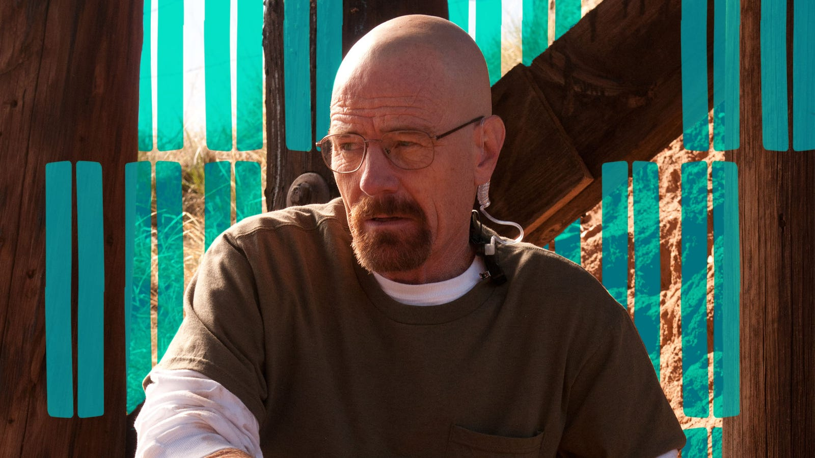 A very special Breaking Bad pulled a train robbery, and
