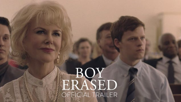 Lucas Hedges faces gay conversion therapy in this dramatic trailer for Boy Erased