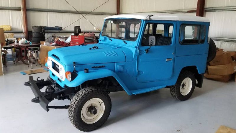 Illustration for article titled At $22,000, Would You Start Cruising in This 1978 Toyota Land Cruiser Diesel?