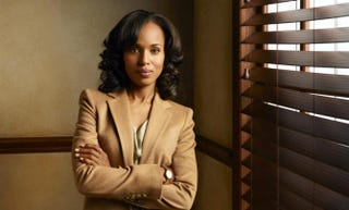 Kerry Washington as Olivia Pope in ScandalABC