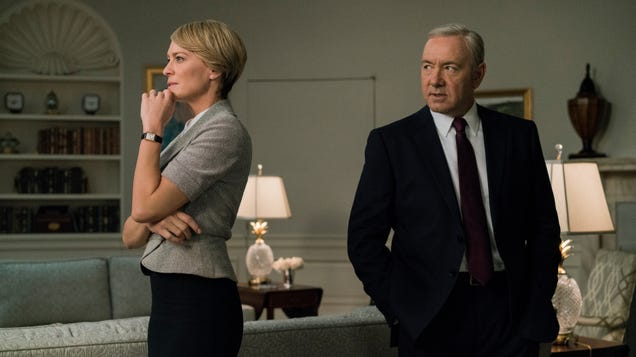 House Of Cards writers considered just dropping an air conditioner on Kevin Spacey's head