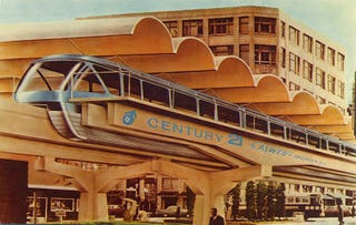 Illustration for article titled Seattle World's Fair Postcards (1962)