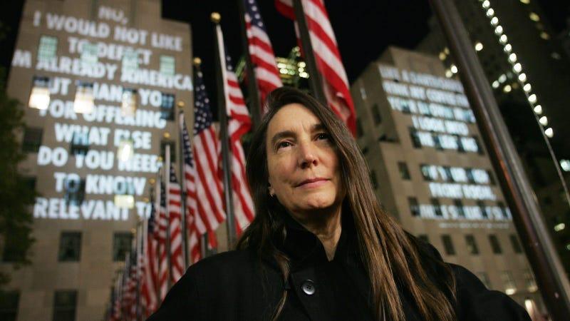 Jenny Holzer. Image via AP.