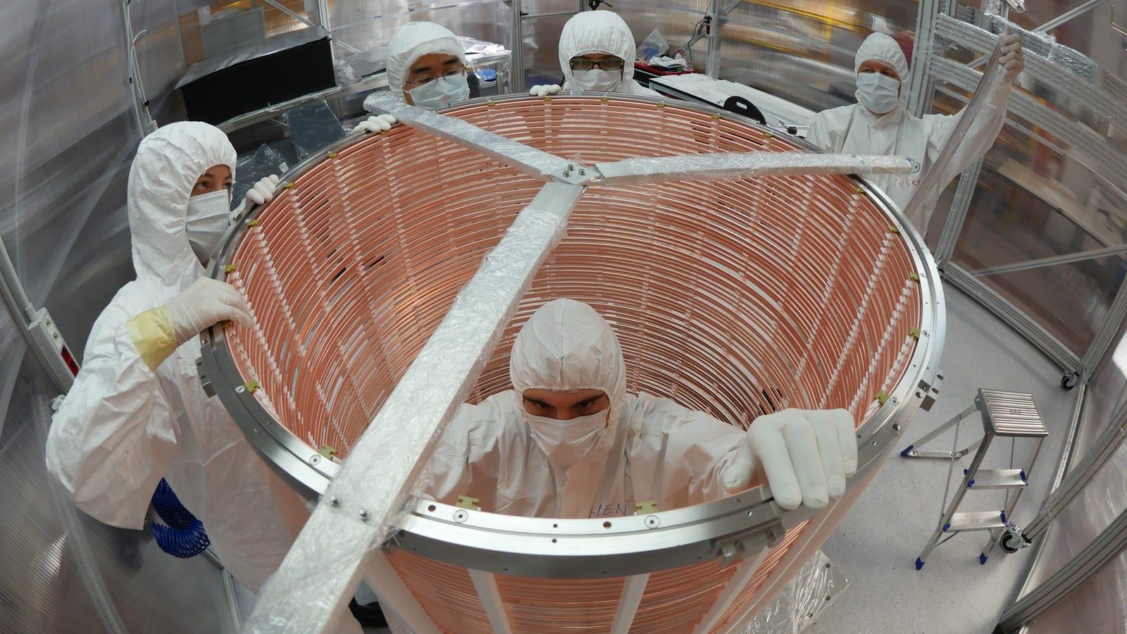 room dark matter detector - photo #3
