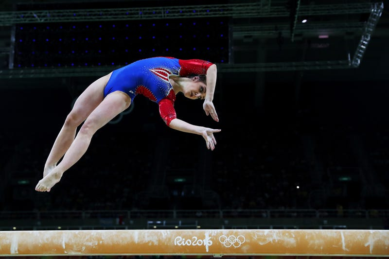 Illustration for article titled Idiots Are Giving Aliya Mustafina So Much Shit For Returning To Competition After Having A Baby