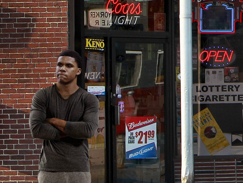 Illustration for article titled Juan Soto Sheepishly Asks Group Of Nationals Fans Entering Liquor Store If They Can Buy Beer For Him After Win