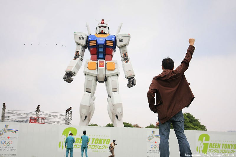 Illustration for article titled How About Another Life-Sized Gundam Statue?