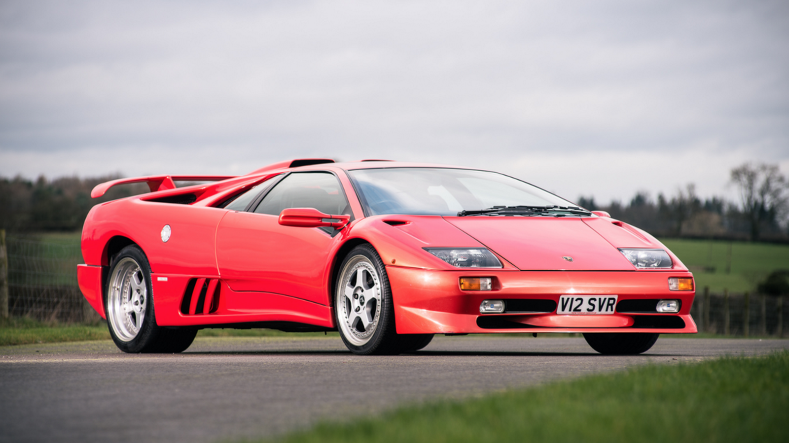 Final Lamborghini Diablo Made In 20th Century Goes To Auction Next Month