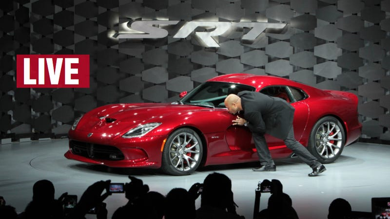 Illustration for article titled Ask SRT President And Designer Ralph Gilles Anything You Want About The New Viper