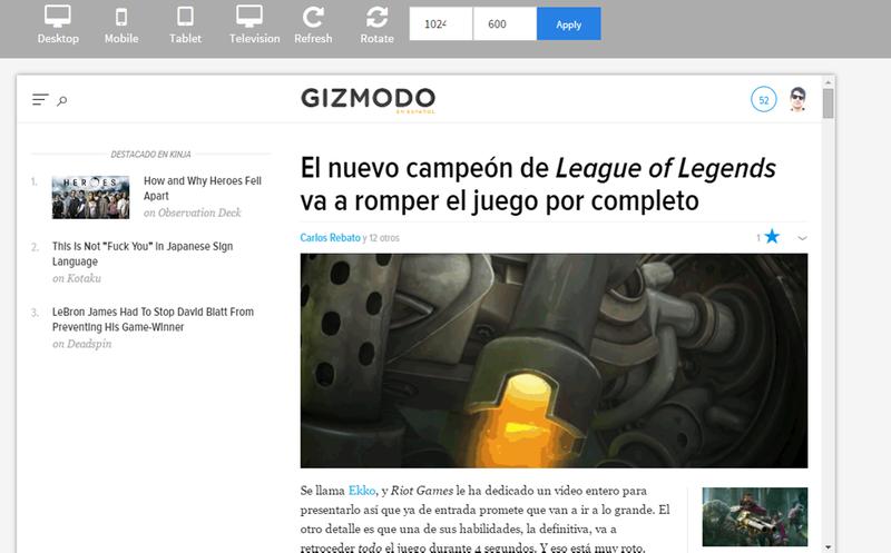 Illustration for article titled Prueba cómo se ve tu página web en todos los dispositivos y resoluciones