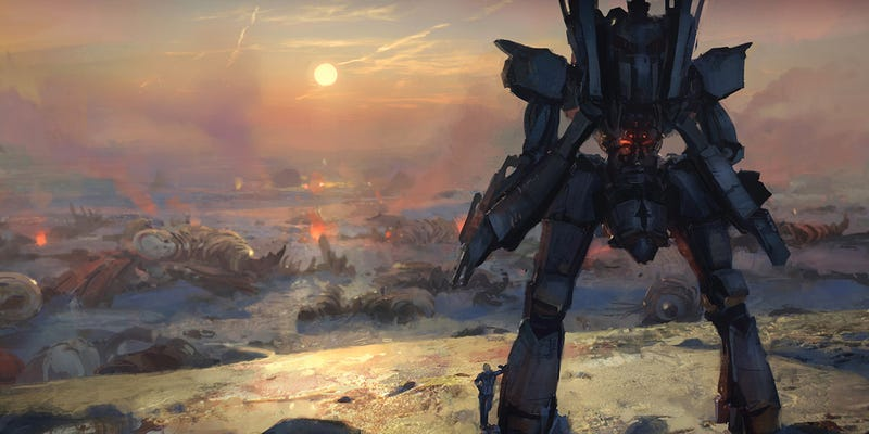 Illustration for article titled Concept Art Writing Prompt: At the End of the Battle