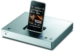 Illustration for article titled The Onkyo ND-S1 iPod Dock is Speakerless But Abounds With Outputs