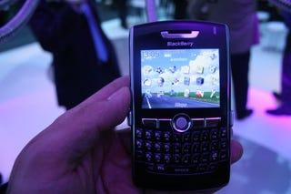 Illustration for article titled RIM BlackBerry 8800 Hands On