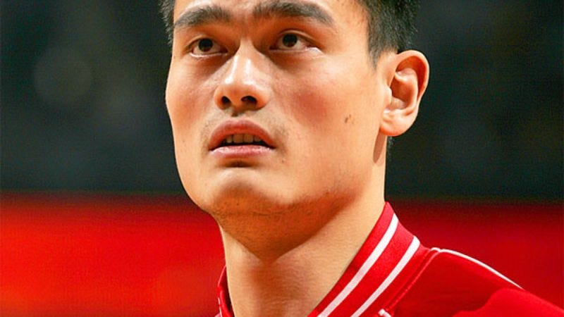 Illustration for article titled Yao Ming Living Up To Height Expectations