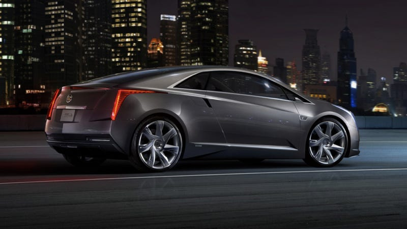 Illustration for article titled Cadillac ELR is the Chevy Volt of electric cars