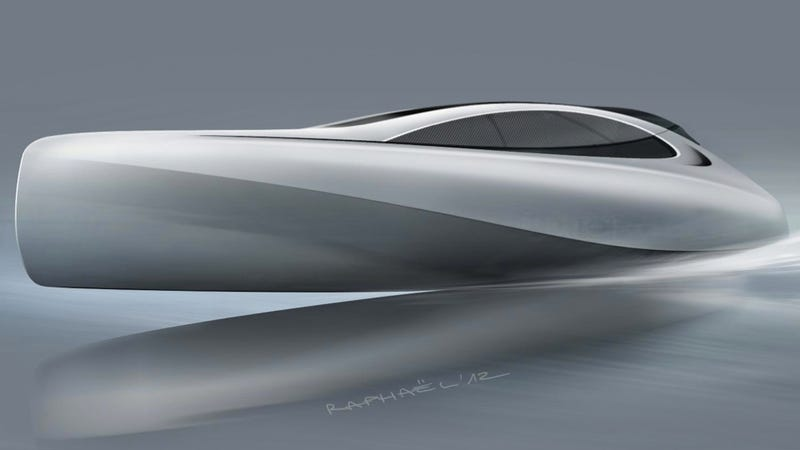 Illustration for article titled This Sleek Mercedes Yacht Is Pure Floating Sex