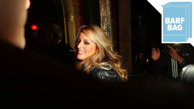 Illustration for article titled Stormy Daniels Was 'Physically Threatened' to Stay Quiet About Affair, Lawyer Says