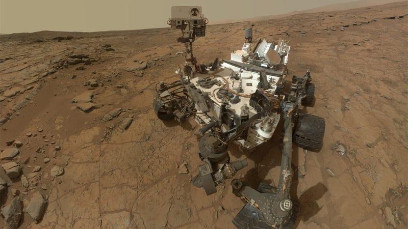 Illustration for article titled El robot Curiosity revela que pudo haber vida en Marte