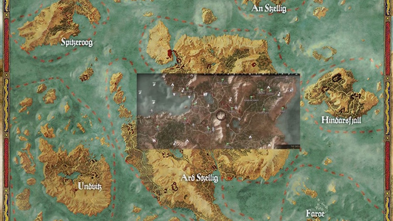 El mapa de The Witcher 3 es gigantesco: RDR, GTA V y Skyrim combinados
