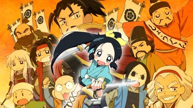 Illustration for article titled Nija Girl & Samurai Master is getting a third season!
