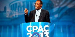 Dr. Ben Carson at CPAC 2013 (Douglas Graham/CQ Roll Call)
