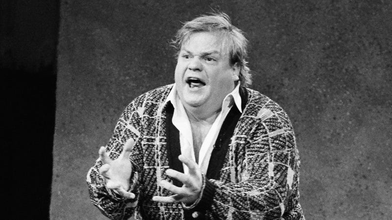 Illustration for article titled It's 3 p.m., so let's watch Chris Farley get uncomfortably honest about his life—in song!