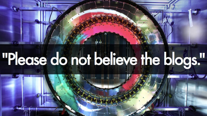 Illustration for article titled Have we really found the God Particle? CERN physicists say don't believe the hype