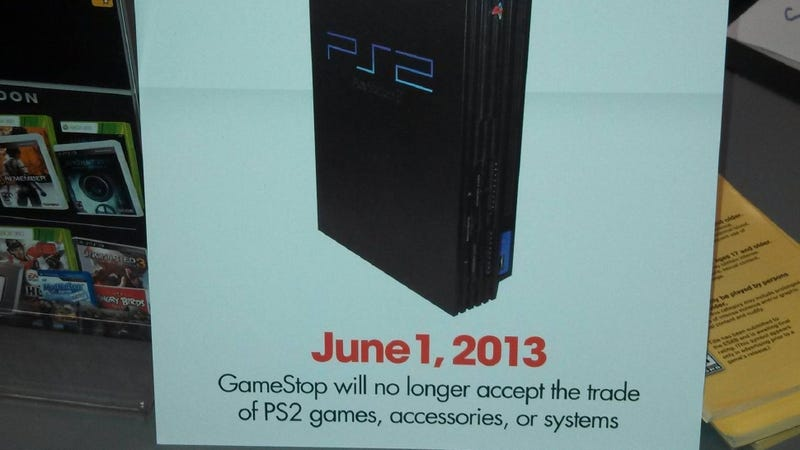 Illustration for article titled Rumor: GameStop Stops PS2 Trade-Ins in June