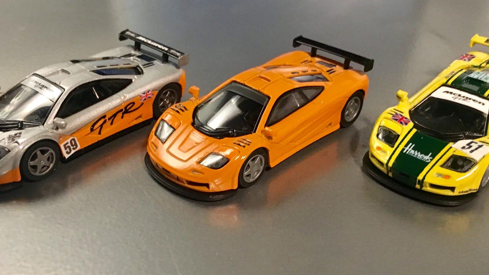 Custom 1/64 Kyosho McLaren F1 GTRs