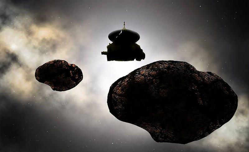 Interpretación artística del objeto al que se dirige New Horizons. Imagen: NASA