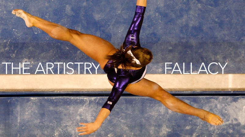 """Illustration for article titled """"Athletic"""" Shawn Johnson Retires: How Gymnastics Talks About Bodies In Code"""