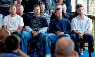 Illustration for article titled The Real Frauds: Why Did A-Rod's Teammates Even Bother To Show Up?