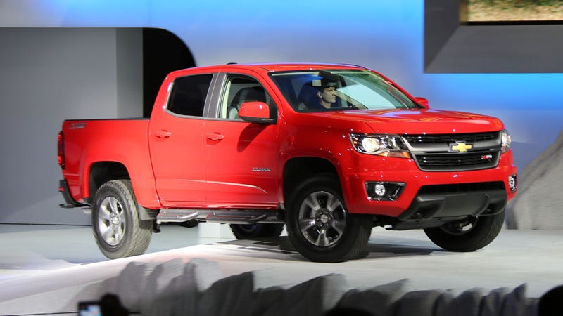 Illustration for article titled 2015 Chevy Colorado: It's Not 'Reinvented' But It's Not Bad