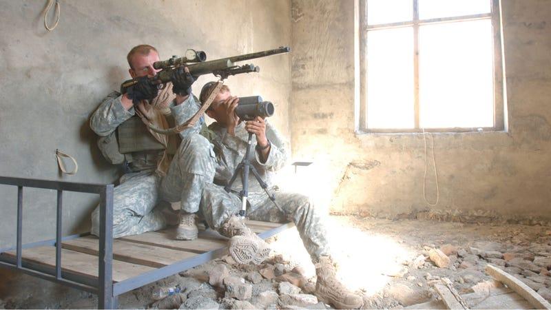Illustration for article titled DARPA's Super Sniper Scope Is the World's Deadliest Range-Finder