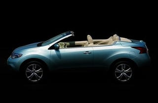 Illustration for article titled 2011 Nissan Murano Cross Cabriolet: Who Swallowed The Worm?